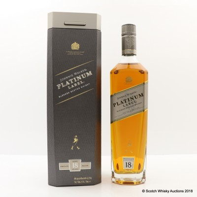 Johnnie Walker 18 Year Old Platinum 75cl