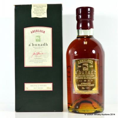 Aberlour A'Bunadh Silver Limited Edition