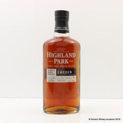 Highland Park 2002 14 Year Old Single Cask #2121 For Sweden