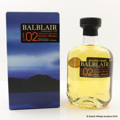 Balblair 2002 1st Release