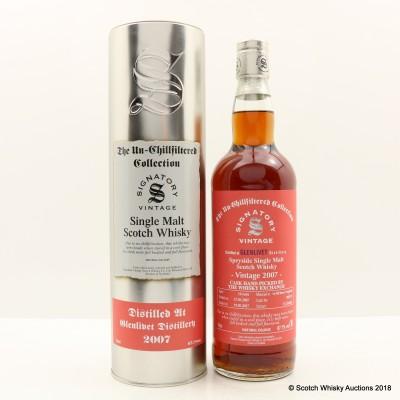 Glenlivet 2007 10 Year Old Signatory For The Whisky Exchange