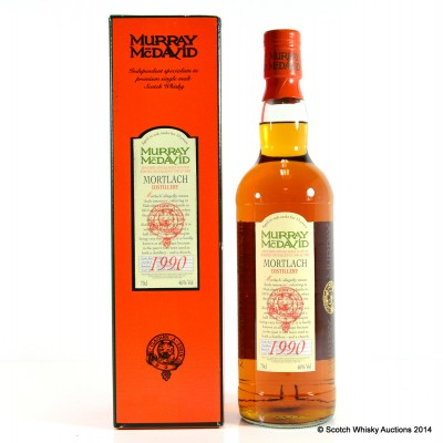 Mortlach 1990 13 Year Old Murray McDavid