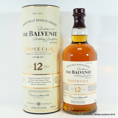 Balvenie Triple Cask 12 Year Old 1L