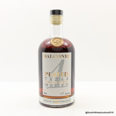 Balcones Peated 10th Anniversary 75cl