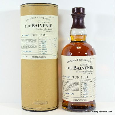 Balvenie Tun 1401 Batch #7