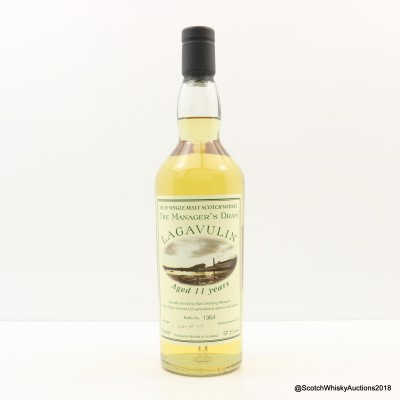 Manager's Dram Lagavulin 11 Year Old