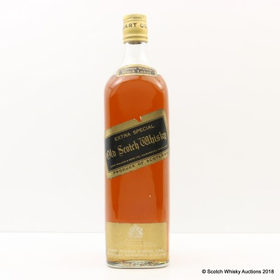 Johnnie Walker Black Label Extra Special 1 Quart