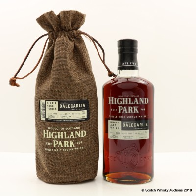 Highland Park 2001 16 Year Old Dalecarlia