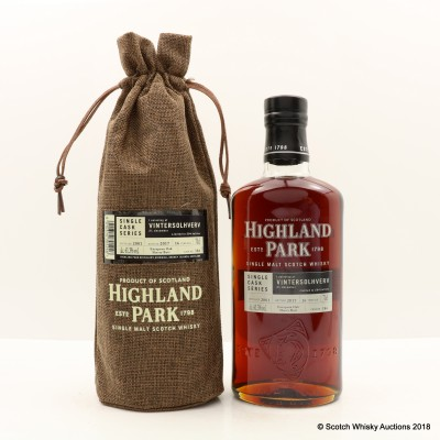 Highland Park 2001 16 Year Old Single Cask #386 For Vintersolhverv