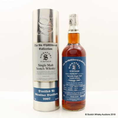 Glenlivet 2007 11 Year Old Signatory Whisky Exchange Exclusive (Cask #900135)
