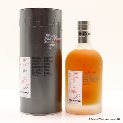 Bruichladdich Micro Provenance 2004 10 Year Old