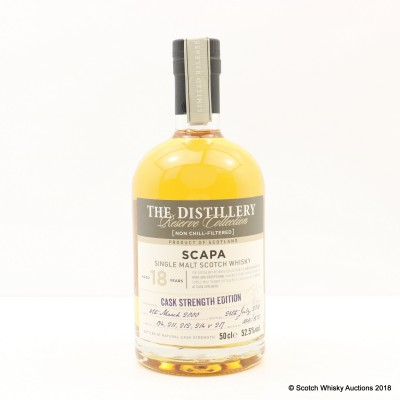 Scapa 2000 18 Year Old Distillery Reserve Collection 50cl