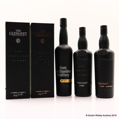 Glenlivet Alpha, Cipher & Code 3 x 70cl