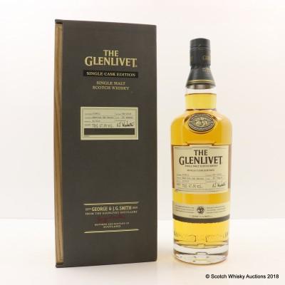Glenlivet 25 Year Old Single Cask For Heathrow 1L