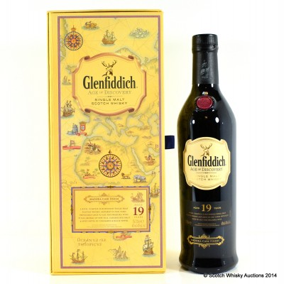 Glenfiddich Age Of Discovery Maderia Cask 19 Year Old