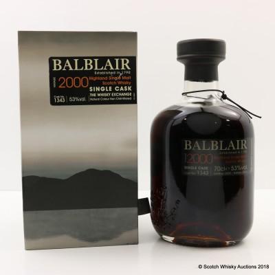 Balblair 2000 Single Cask Whisky Exchange