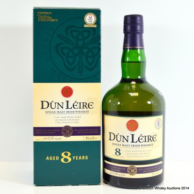 Dún Léire 8 Year Old Single Irish Malt