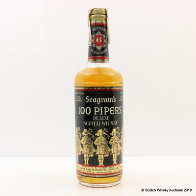 Seagram's 100 Pipers 75cl