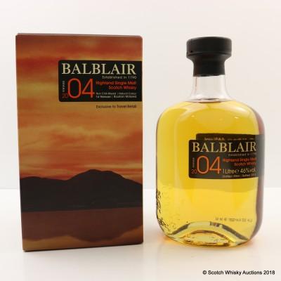 Balblair 2004 First Release Travel Retail 1L