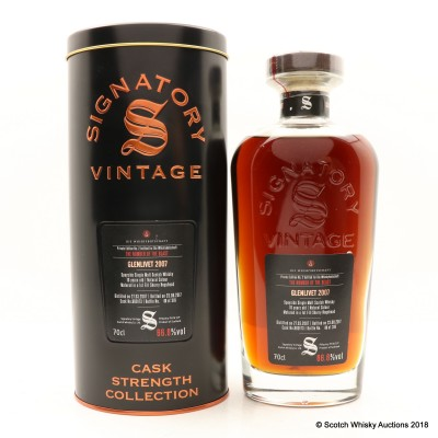 Glenlivet 2007 10 Year Old Signatory For Die Whiskybotschaft 'The Number Of The Beast'