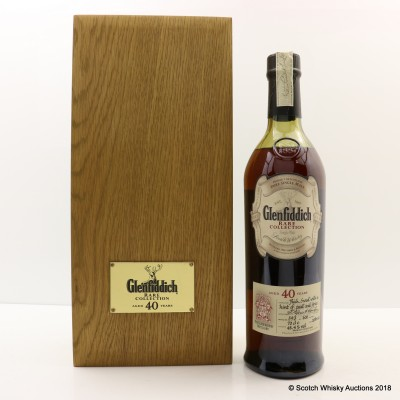 Glenfiddich 40 Year Old Rare Collection 2002 Edition