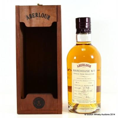 Aberlour Warehouse No 1 Single Bourbon Cask Selection 1995 14 Year Old