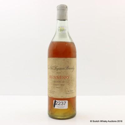 Hennessy 1913 Brandy