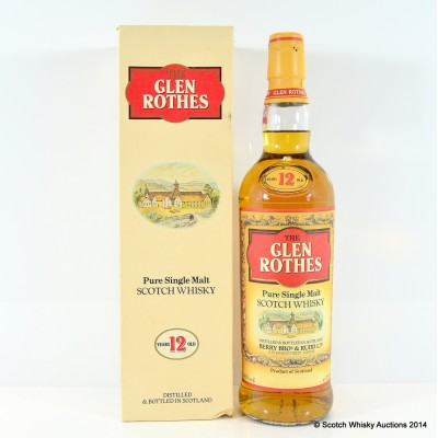 Glen Rothes 12 Year Old