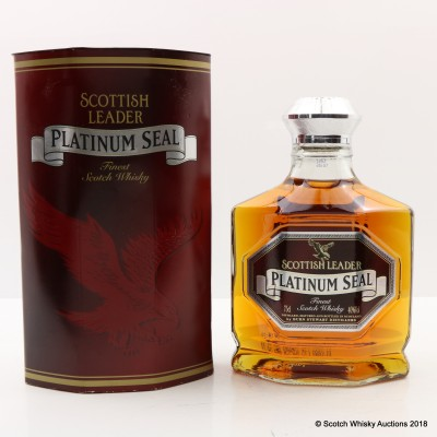 Scottish Leader Platinum Seal 75cl