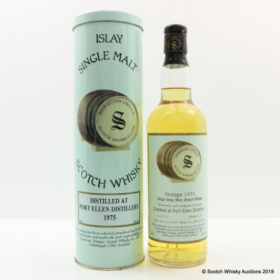Port Ellen 1975 23 Year Old Signatory