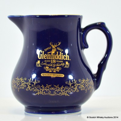 Glenfiddich Ancient Reserve 18 Year Old Blue Water Jug