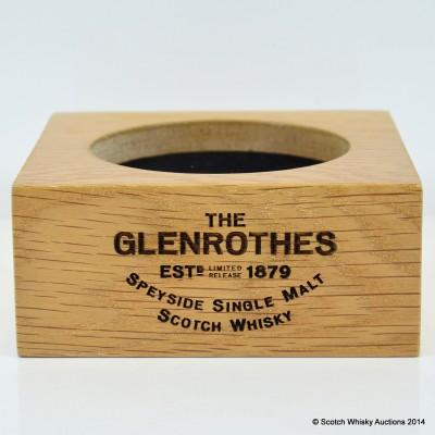Glenrothes Wooden Bottle Plinth