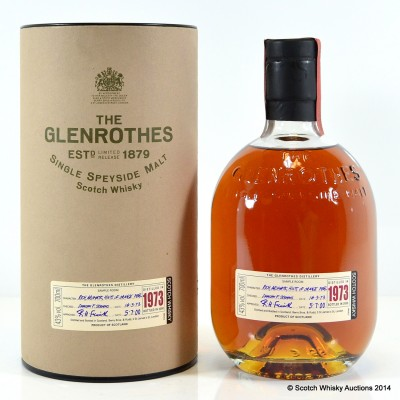 Glenrothes 1973