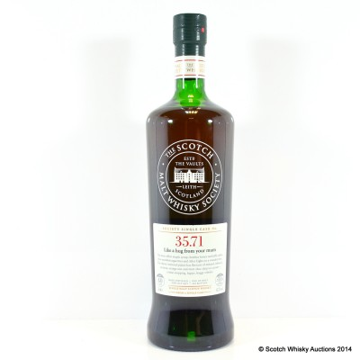 SMWS 35.71 Glen Moray 1971 40 Year Old