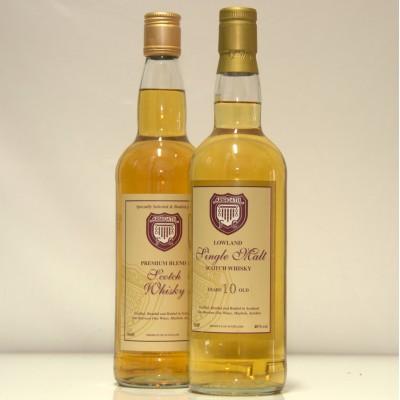 Arbroath FC malt x 2 bottles