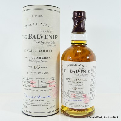 Balvenie Single Barrel 15 Year Old