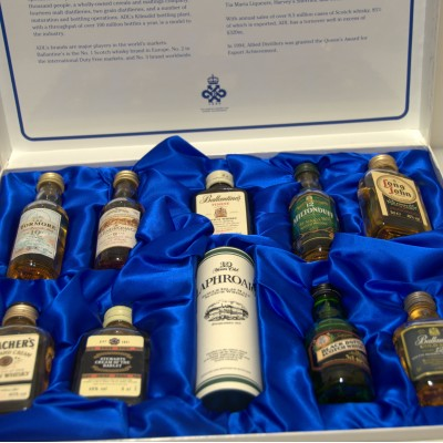 Allied Distillers Queen's Award Collection.
