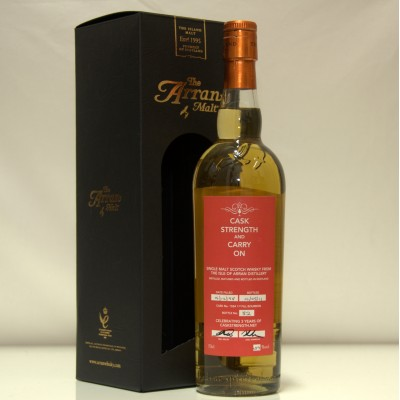 Arran Cask Strength and Carry On