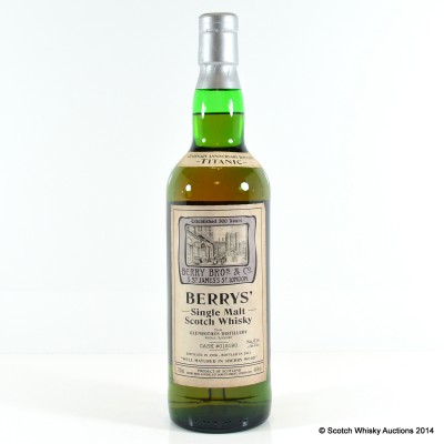 Glenrothes Titanic Centenary 1998 Berry Bros & Rudd