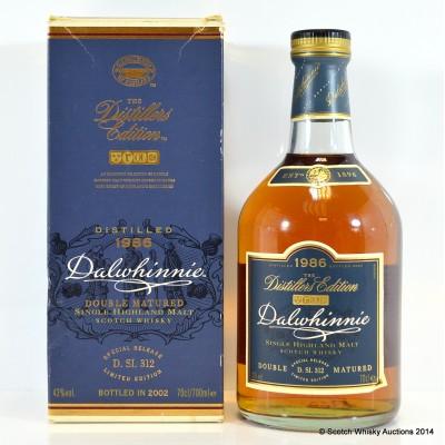 Dalwhinnie 1986 Distillers Edition