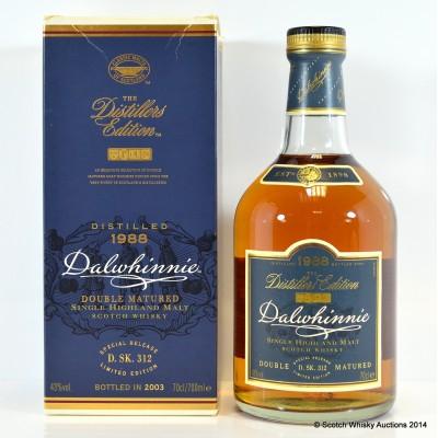 Dalwhinnie 1988 Distillers Edition