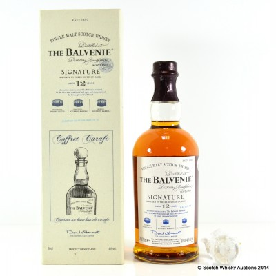 Balvenie Signature 12 Year Old Batch #3 Coffret Carafe Edition