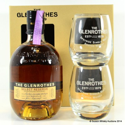 Glenrothes Select Reserve With 2 x Glasses