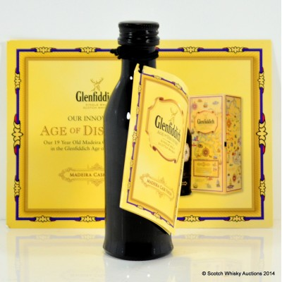 Glenfiddich Age of Discovery Madeira Cask Mini 5cl