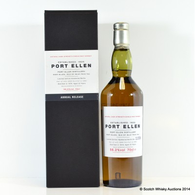 Port Ellen 1st Annual Release 1979 22 Year Old
