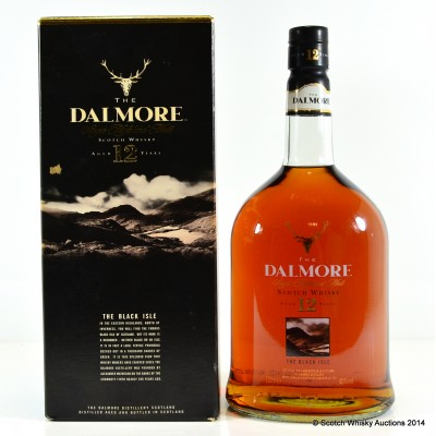 Dalmore Black Isle Edition 12 Year Old 1L