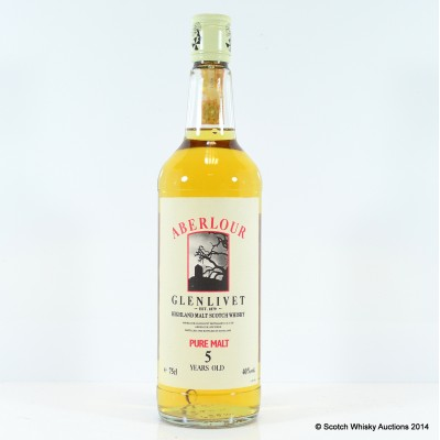 Aberlour Glenlivet Pure Malt 5 Year Old 75cl