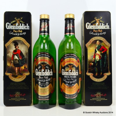 Glenfiddich Clans Of The Highlands Of Scotland Clan Sinclair & Glenfiddich Clans Of The Highlands Of Scotland Clan Montgomery