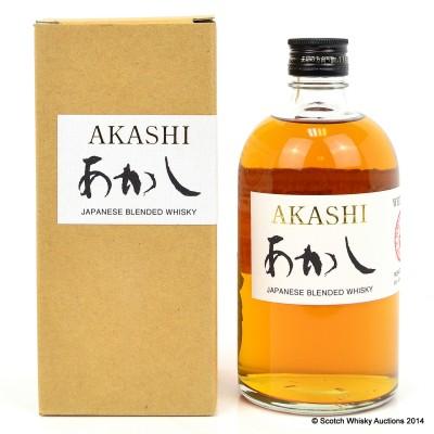 Akashi White Oak Blended Whisky 50cl