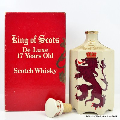King Of Scots Decanter 17 Year Old